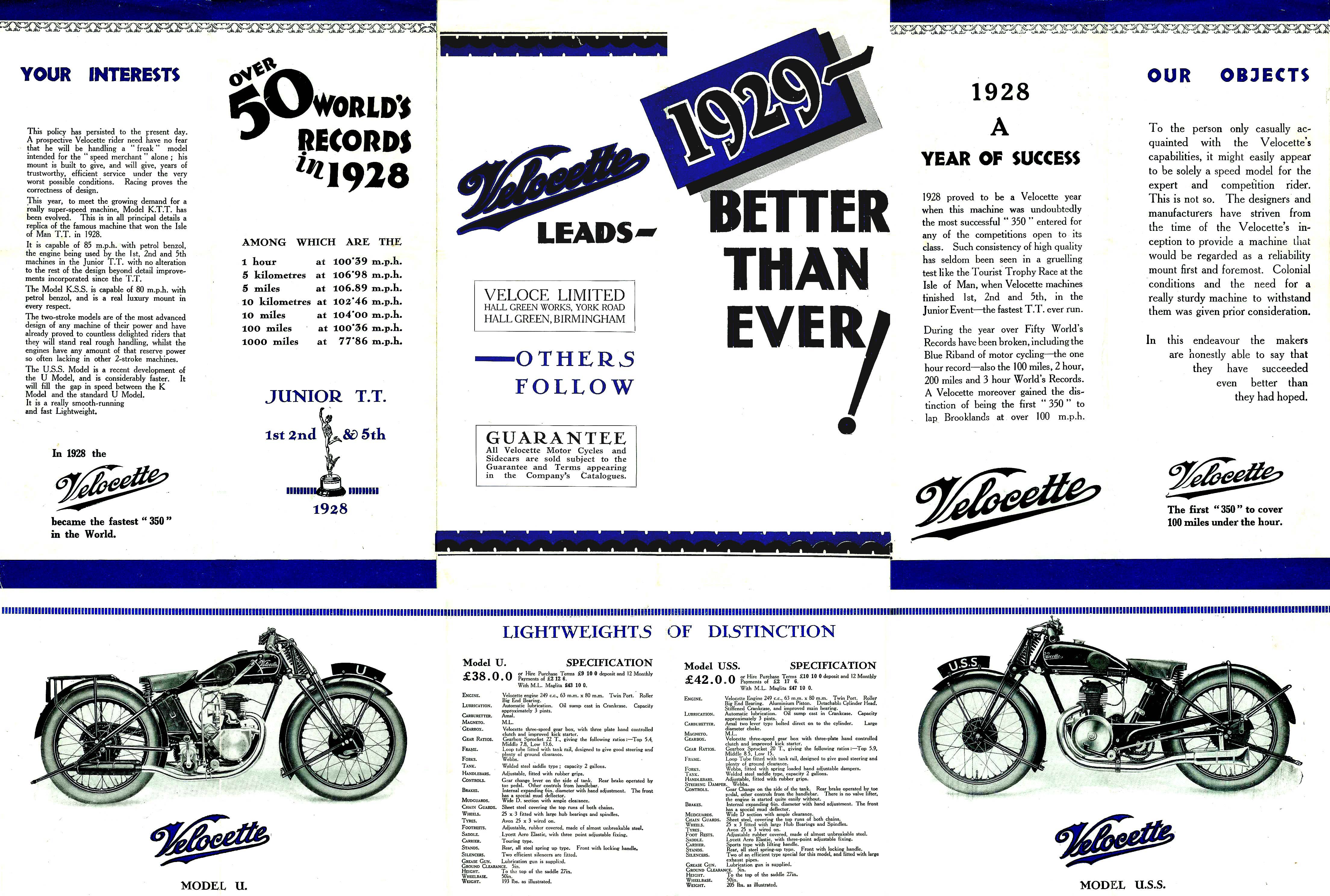 the velocette owners club