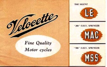 The velocette owners club catalogues 1954 velocette catalogue asfbconference2016 Gallery