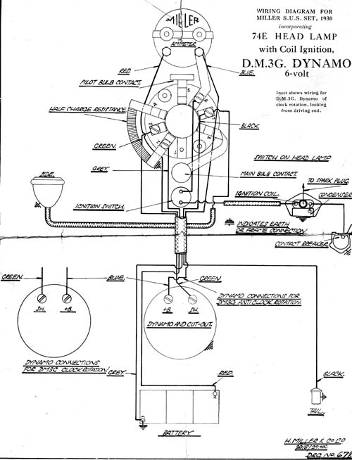 velocette mac wiring diagram