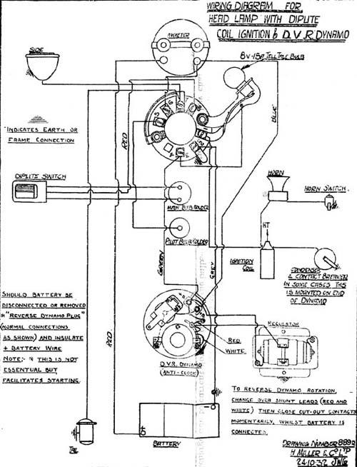 Marvelous Velocette Owners Club Velocette Technical Information Wiring Diagrams Wiring Database Aboleterrageneticorg
