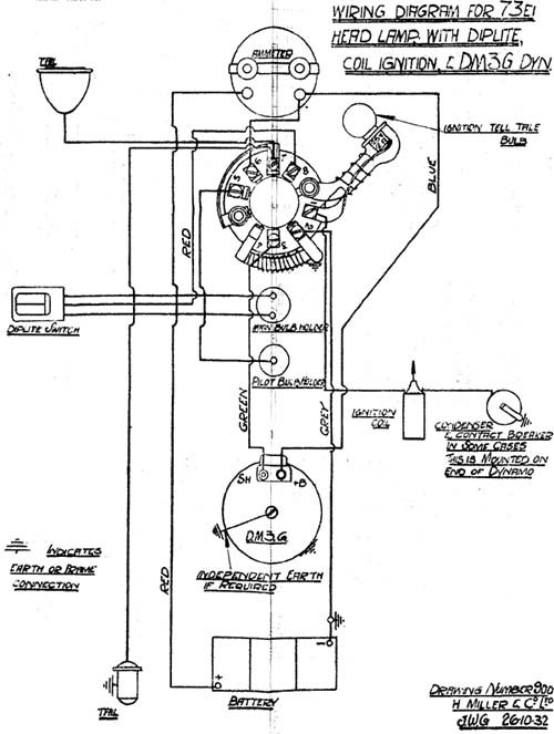 Electrics wiring diagrams the velocette owners club miller 261032 asfbconference2016 Choice Image